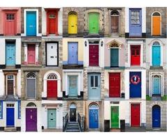 pintura de puertas y ventanas
