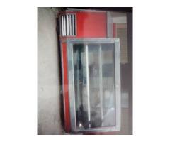 Refrigerador nevera de mostrador para carne pollo o víveres