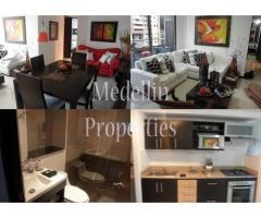 Apartamentos Temporal Amoblados en  Medellin Código: 4403