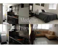 Apartamentos Temporal Amoblados en  Medellin Código: 4407