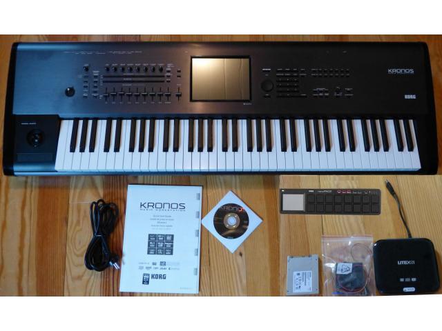 Vende teclados (Korg M3, Korg Pa4x, Korg OASYS, Tr Korg, Yamaha Motif, Yamaha Genos-Tyros) - 5/6
