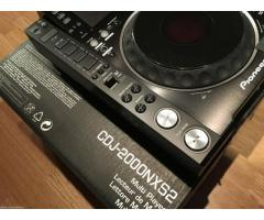DE VENTA PIONEER DJ SET 2X CDJ-2000 NXS2 & DJM-900 NXS2 + HDJ-2000 MK2
