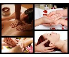 Masajes corporales. depilación corporal, limpieza facial