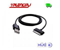 CABLE USB PARA SAMGUNG GALAXY TAB 2 TAB 3 30 PINES NETRO XUE 1 METRO
