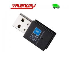 ADAPTADOR USB WIFI 150 MPS + BLUETOOTH V4.0 10 METROS MINI USB
