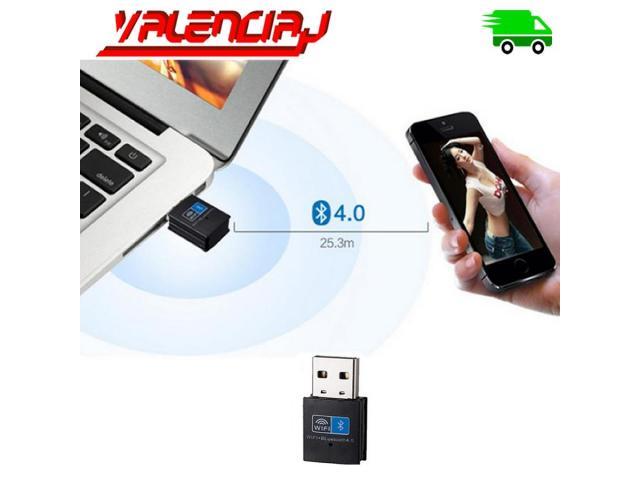 ADAPTADOR USB WIFI 150 MPS + BLUETOOTH V4.0 10 METROS MINI USB - 2/3