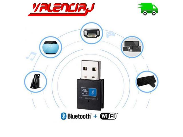 ADAPTADOR USB WIFI 150 MPS + BLUETOOTH V4.0 10 METROS MINI USB - 3/3