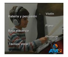 Todos los instrumentos - CLASES DE MÚSICA PARA EL TIEMPO LIBRE