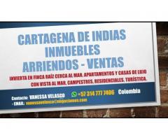Arriendo apartamentos en Marbella, Cartagena