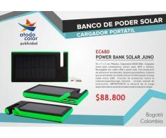 Baterías Externas y Bancos de Poder Solar