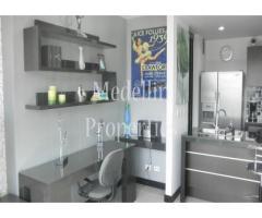 Apartamentos Amoblados en Alquiler - Medellín Cód: 4324
