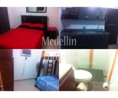 Apartamentos Amoblados en Alquiler - Medellín Cód: 4595