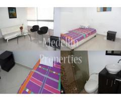 Apartamentos Amoblados en Alquiler - Medellín Cód: 4602