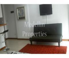 Apartamentos Amoblados en Alquiler - Medellín Cód: 4249