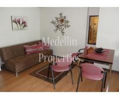 Apartamentos Amoblados en Alquiler - Medellín Cód: 4248
