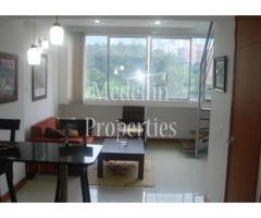 Apartamentos Amoblados en Alquiler - Medellín Cód: 4247