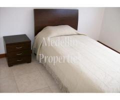 Apartamentos Amoblados en Alquiler - Medellín Cód: 4198