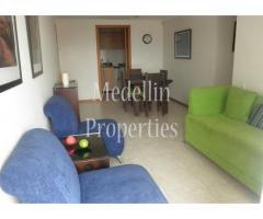 Apartamentos Amoblados en Alquiler - Medellín Cód: 4190