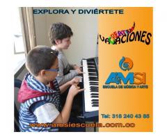 TALLER DE VACACIONES PARA NIÑOS -clases creativas