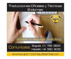 TRADUCCIONES EN BOGOTA.. (1) 7568600