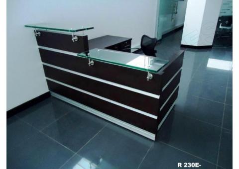 Recepciones y counter muebles para oficina fabrica en for Fabrica muebles bogota