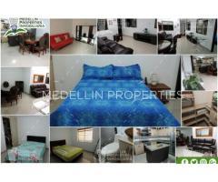 Alquiler Temporal de Apartamentos en Envigado Cód: 4784