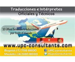 TRADUCTORES PROFESIONALES JURADOS EN 8 IDIOMAS 3113050553*