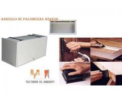 MANTENIMIENTO Y AREGLO DE GABINETES AEREOS