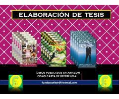 ELABORACIÓN DE TESIS