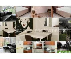 _Apartamentos en renta medellin el poblado :Cód: 4787_