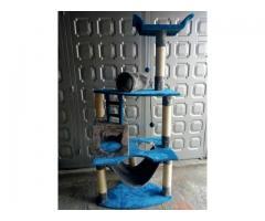 gimnasio rascador para gato