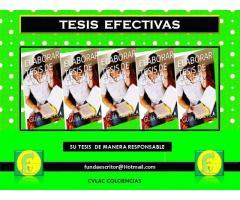 TESIS EFECTIVAS