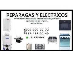 REPARACION DE MARMITAS A GAS, CEL 3003028272
