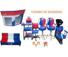 Exclusivos conjuntos de muebles para su peluqueria