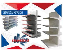 Góndolas y estanterías de exhibición para carga pesada