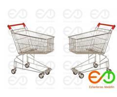 carros metalicos para supermercados colombia