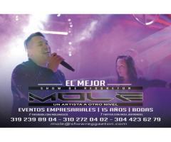 show de reggaeton con bailarines para eventos bogota - MOLE