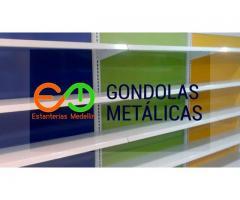 estanterias metalicas medellin  para supermercados gondolas