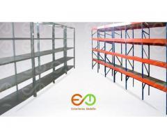 estanterias para bodegas estanterias metalicas medellin todo en metal