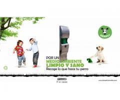 Canecas para perros y dispensadores de bolsas