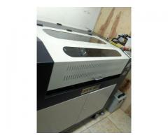 maquina laser de corte y de grabado