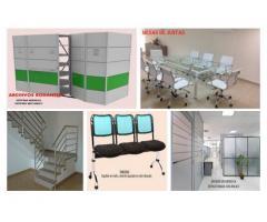 Diseño y fabricación de mobiliarios para oficina y áreas comerciales