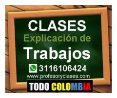 Clases particulares de Finanzas a domicilio en Medellin Excel Contabilidad Profesor particular Tutor