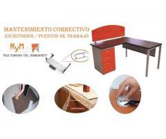 Mantenimiento preventivo para escritorios de oficina