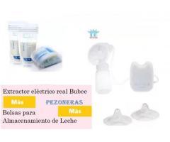 Super combo de Extractor Elèctrico Real Bubee+Pezoneras+Bolsas