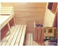 Saunas tipo cabina