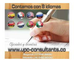 TRADUCCIONES OFICIALES - TRAMITES ( REGISTRADURIA - MIN. DE EDUCACIÓN) En el (1) 7568600 -3113050553