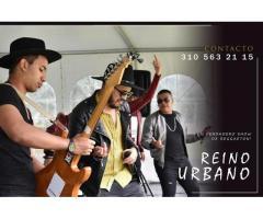 reino urbano - show reggaeton bogota