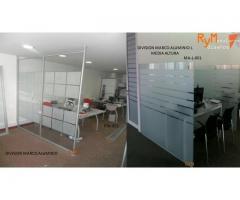Mantenimiento y  Divisiones para oficinas
