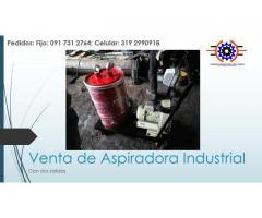 Aspiradora industrial de 20 galones doble punto de aspirado. envíos a toda Colombia!